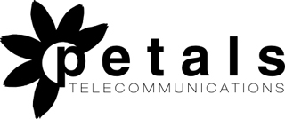 Petals Telecommunications Logo Design