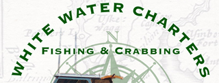 White Water Charters Rack Card